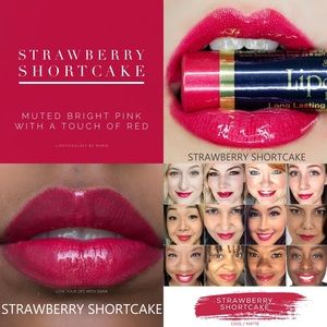 NEW! Strawberry Shortcake LipSense!